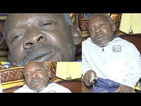 """Le comédien Demba est gravement malade... """"Je commence à perdre la vue """""""