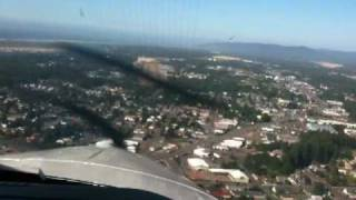 Socata TBM850 flight Aurora to Florence Oregon