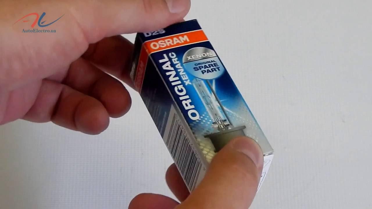 Распаковка ксеноновой лампы D2S Osram 66240XNB Xenarc Night .