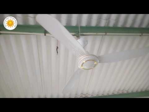 150 watts solar 2 Fan 3 LED detail in Urdu Hindi