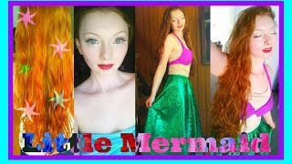 Ariel The Little Mermaid Makeup Tutorial Thumbnail