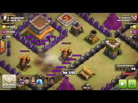 How to destroy two Air defense With Three light spells.