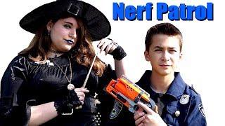 Nerf  Patrol vs The Sorceress