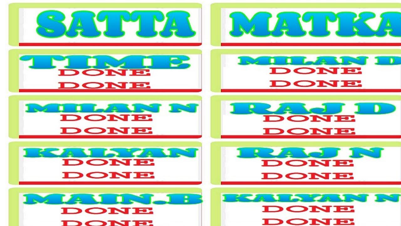 SATTA MATKA KALYAN DATE 04/03/2021 KALYAN + ALL MARKET FIX GAME - WATCH LIVE NOW