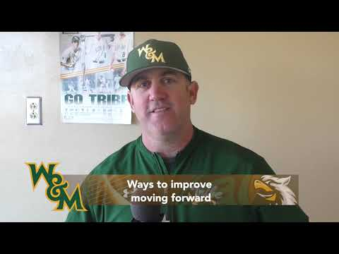 2019 W&M Baseball: West Virginia Post Game Interview (3/17/19)