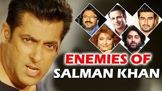 Salman Khan's 5 Biggest Enemies In Bollywood | Bollywood Aajkal