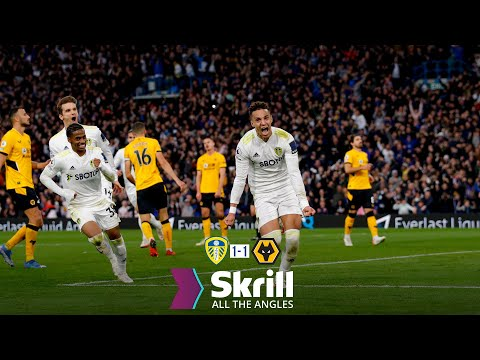 Injury-time Rodrigo penalty sends Elland Road WILD! | All The Angles | Leeds United 1-1 Wolves