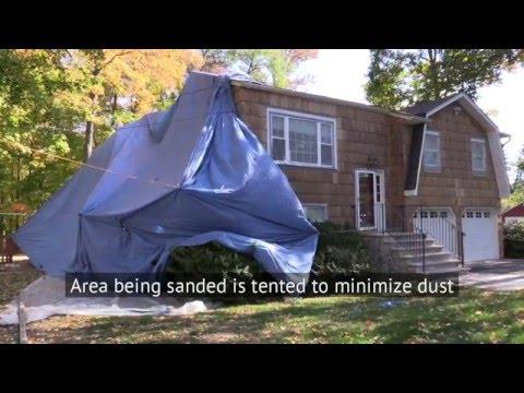 How to Paint a Cedar Shake House