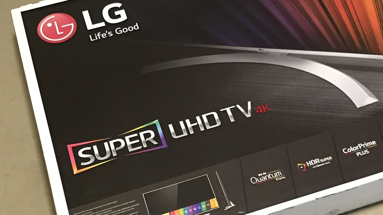 feca1049a LG Super UHD Smart TV 4K HDR Super with Dolby Vision 49UH770V 49 ...