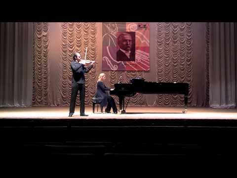 Maksym Filatov - Mozart, Violin concerto №1(Vinnitski cadenza), movement №1
