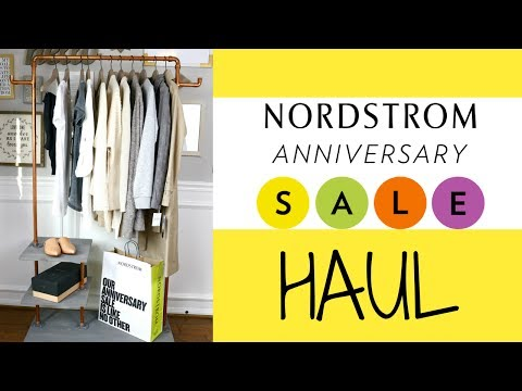 NORDSTROM ANNIVERSARY SALE 2017 - Clothing Haul + Try-on | LuxMommy