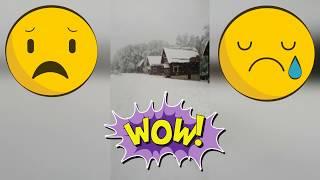 Snowfall /Обильный Снегопад на Юге России / Конец  Мая 2020 / Меняется климат