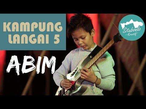 """ABIM Gitaris Cilik """" Cover Mr. Frontman By Jack Thammarat """"(Kampung Langai 5)"""