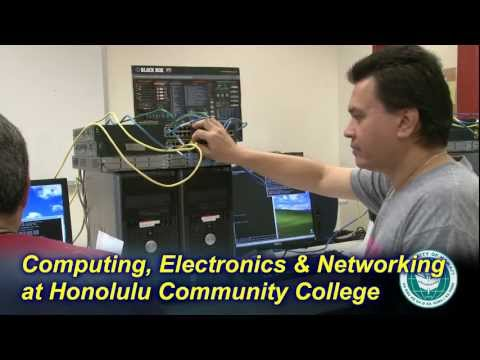 Computing, Electronics, & Networking Technology at Honolulu Community College