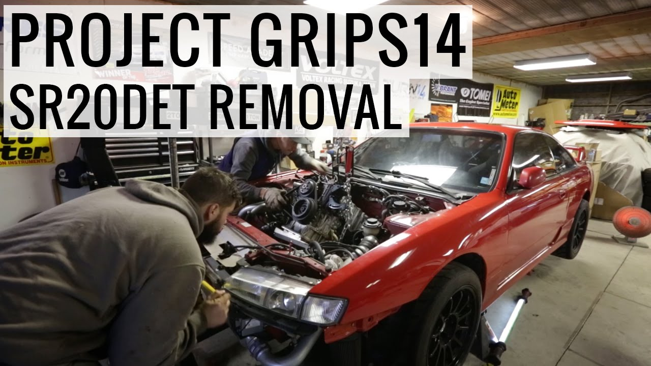 medium resolution of sr20det engine removal new harness brake booster project grips14 youtube