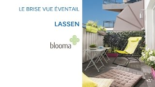 Brise Vue Eventail Lassen Blooma 663509 Castorama Youtube