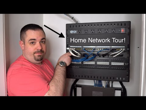 Detailed Home Network Tour - Gigabit Pro Internet And Ubiquiti Router. Also, Eight Helpful Pro Tips!
