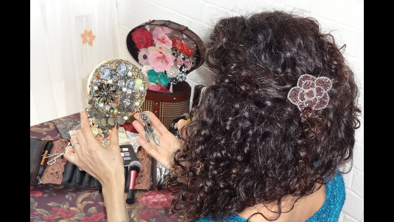How To Do It Yourself Projects   Decorating Your Hand Mirror Jewelry  Vintage/Antique/Victorian