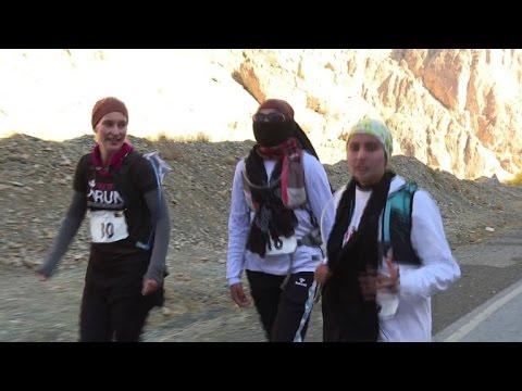 Marathon in Bamiyan a symbol of freedom for Afghan women