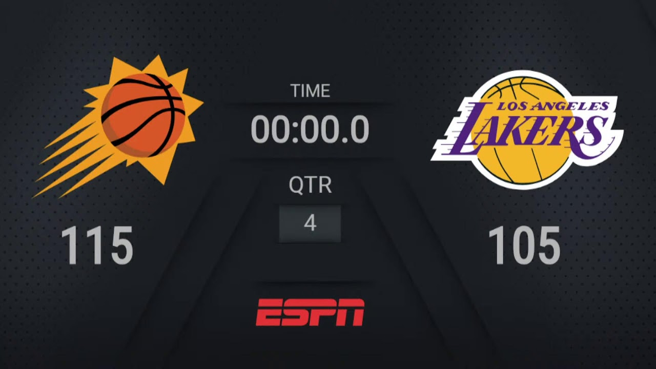 Three Things to Know: Lakers vs. Suns - 10/22/21