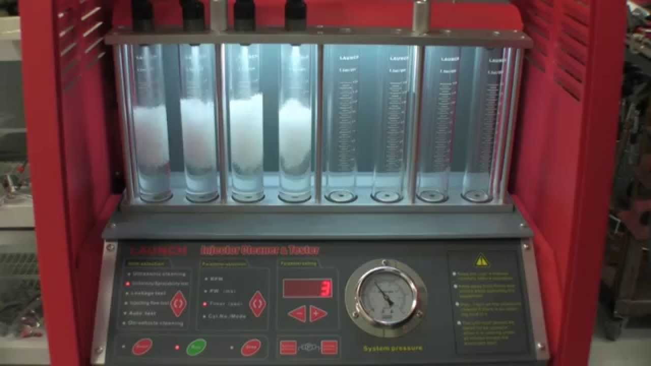 Full Throttle Speed Fuel Injector Bench Testing Amp Cleaning