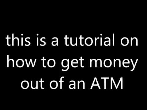 how to get free money out of an atm machine