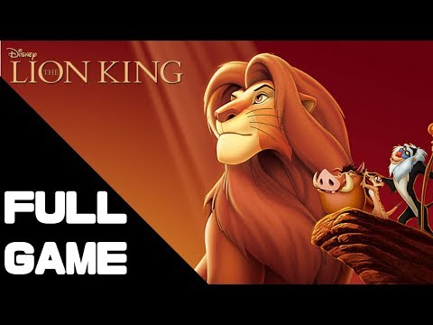 The Lion King Walkthrough Gameplay/Full Game – PS4 PRO No Commentary