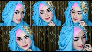 #4 Tutorial Hijab Segi Empat Dengan  Beragam Pariasi Dan Model Kekinian  1