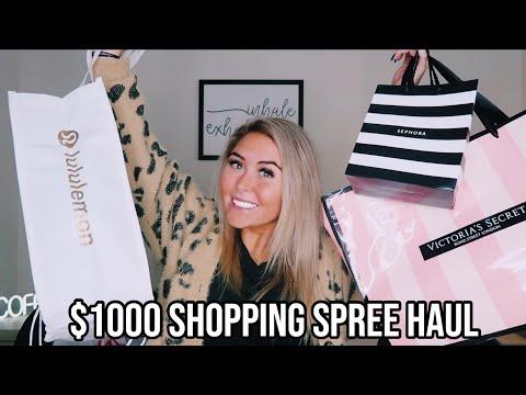 huge-$1000-shopping-spree-haul-||-lululemon,-victoria's-secret,-sephora,-bath-&-bodyworks-&-more!