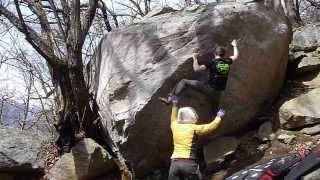 A few bouldering days of March to Cresciano and Chironico Thumbnail