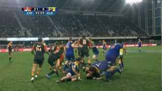 SBW fighting on the pitch : Super Rugby 2012 R.16 Highlanders vs Chiefs
