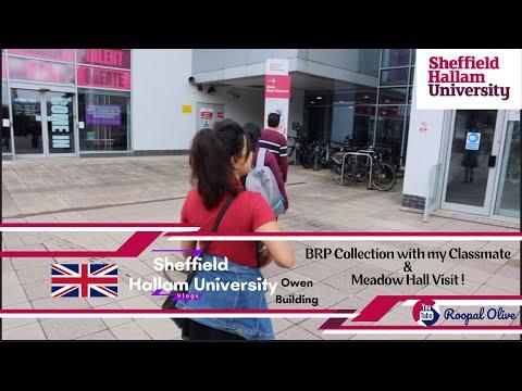 Sheffield Hallam University/Post Office BRP Formalities & Meadow Hall Visit , Sheffield,UK -Vlog82 !