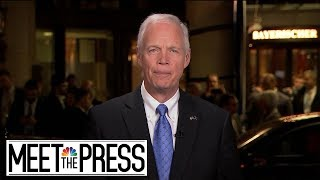 Full Sen. Johnson Interview: 'Congress Is Really Diminished' | Meet The Press | NBC News
