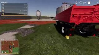 nielssahls Live Farming simulatorer 19 (Corn wall Farm (Costom Build farm)  Gameplay.
