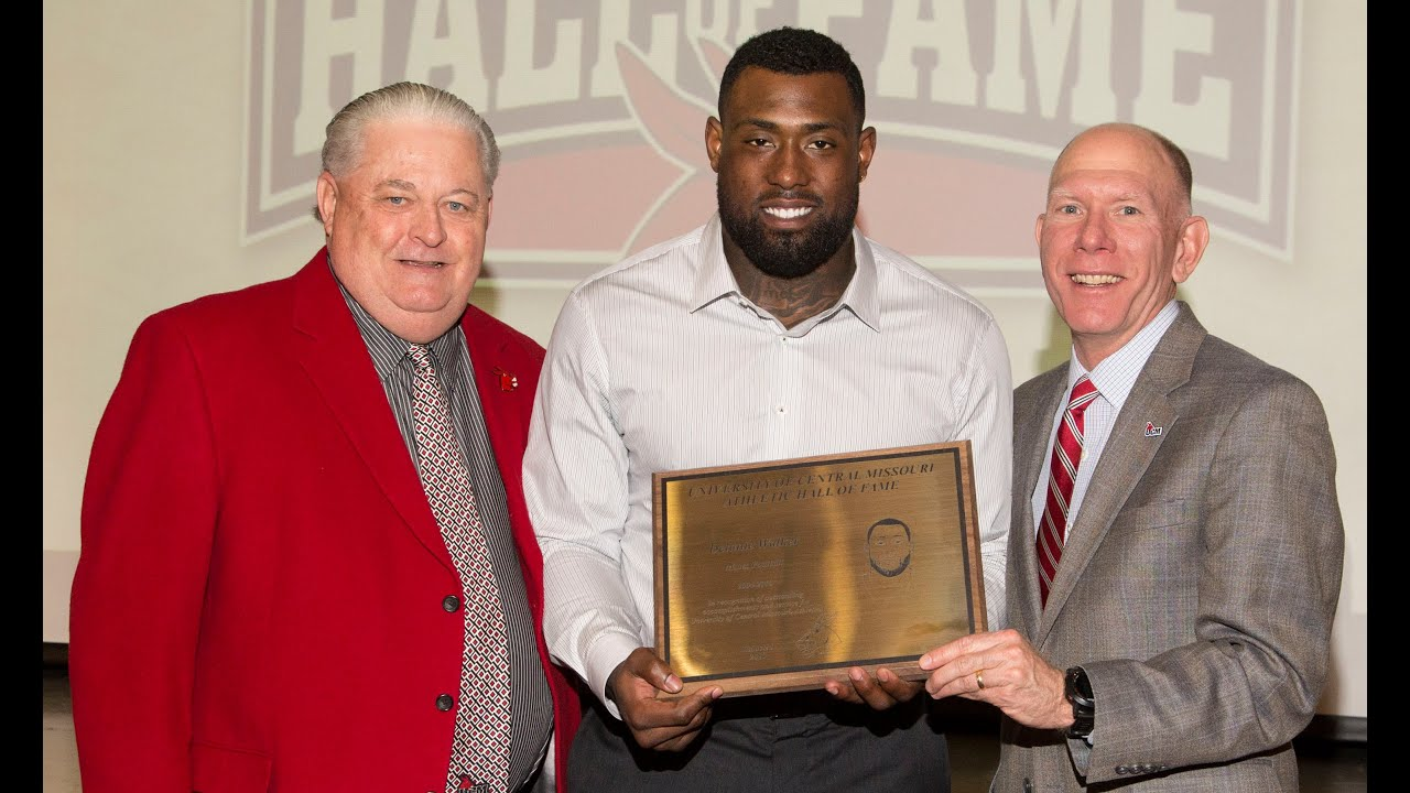 UCM Athletic Hall of Fame Class of 2015 Delanie Walker Football