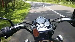 Royal Enfield/forest ride/whats app status/std 350