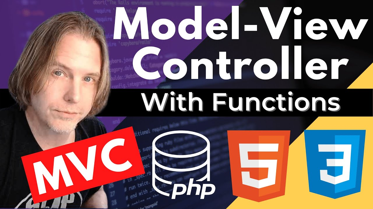 MVC PHP Tutorial   Model View Controller CRUD Application Example