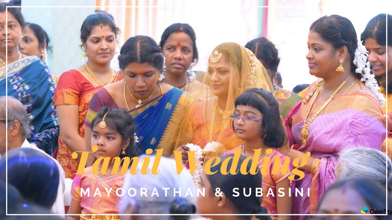 A Jaffna Tamil Wedding Mayoorathan Subasini