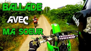 Kalipso En Vrai - Balade en Moto avec ma Soeur