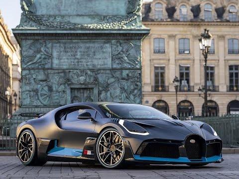 Rencontre avec la Bugatti Divo à Paris