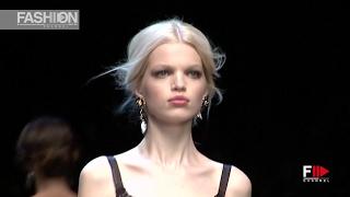 DOLCE&GABBANA Full Show Milan Fashion Week Autumn Winter 2011 2012   Fashion Channel