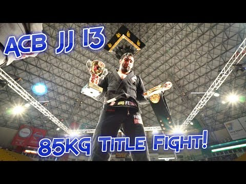 Leandro Lo vs Gabriel Arges ACB JJ 13 Title Fight Highlights