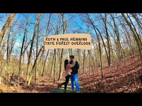 RUTH and PAUL HENNING STATE FOREST SCENIC OVERLOOK | EXPLORING MISSOURI, USA | CATH CHAMP