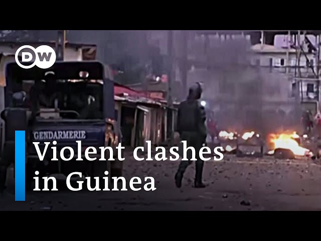 Tensions high in Guinea: Opposition leader claims victory in presidential election | DW News