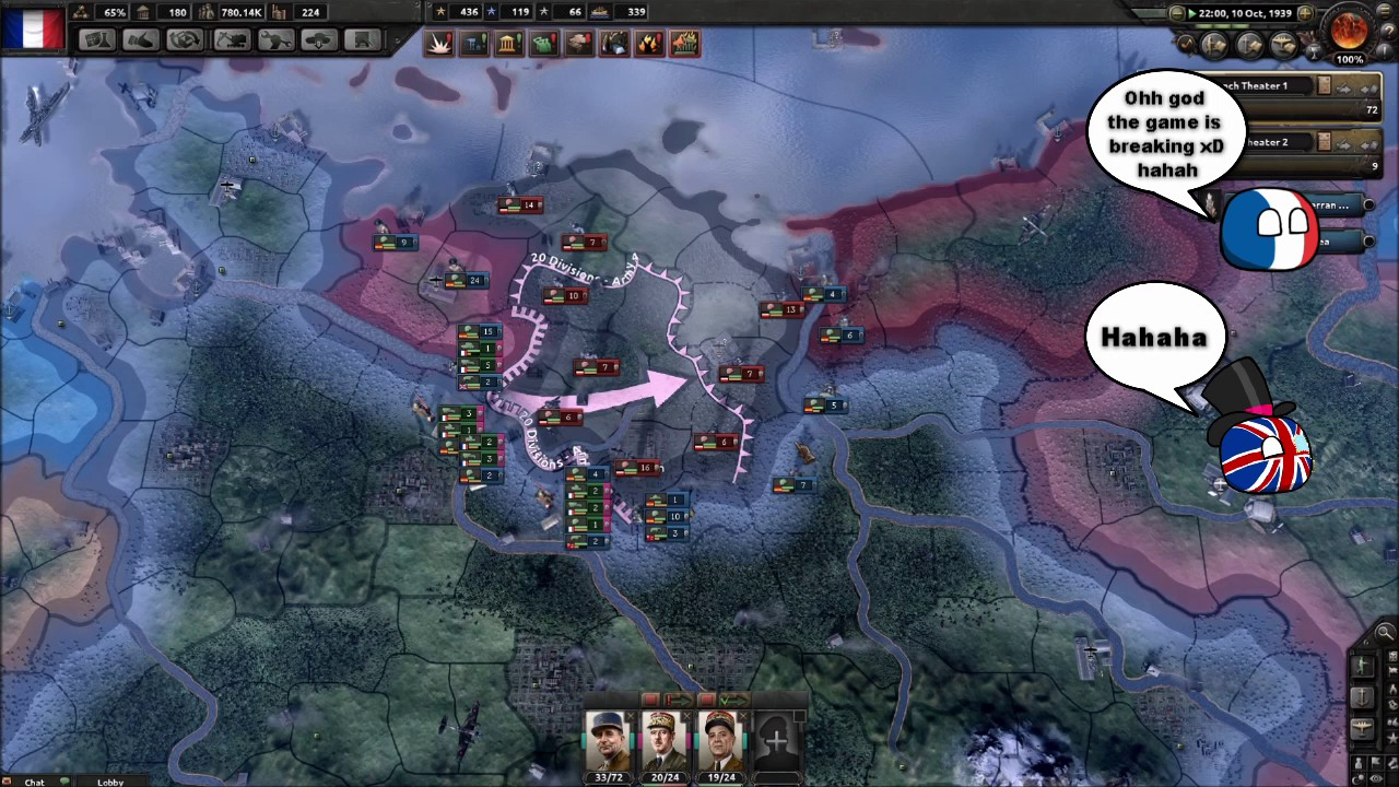 Hoi4 MP in a nutshell episode 17(The siege of Berlin)