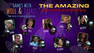 Among Us with Amazing Race 32 (Edited) | Games with Will and James