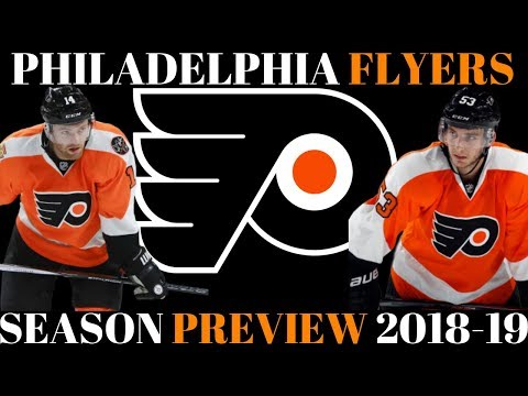 NHL Season Preview 2018 19 - Philadelphia Flyers