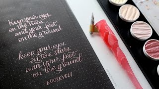 SUPPLIES? WHERE TO START? Calligraphy & Lettering