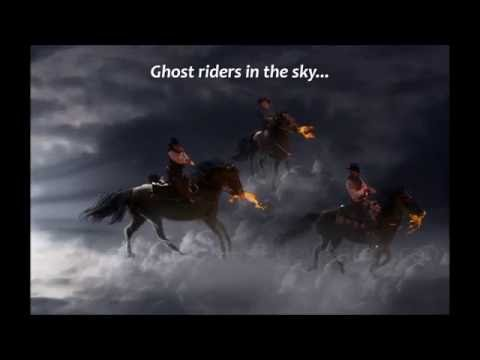 The Outlaws - Ghost Riders In The Sky (Lyrics).