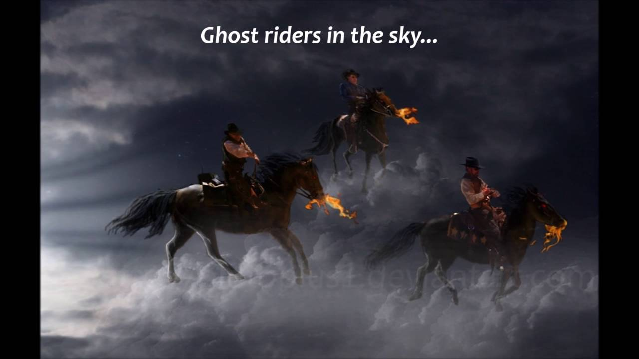 The Outlaws - Ghost Riders In The Sky (Lyrics). - YouTube